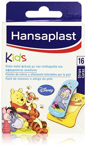 Hansaplast Kids–Pfaffen Design Disney–, leicht zu entfernen und extrem erträglich von der Haut–16Stück