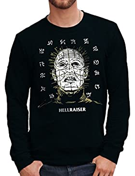Felpa Girocollo HELLRAISER HORROR 80'S - FILM by Mush Dress Your Style