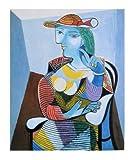 Pablo Picasso Portrait der Marie-Therese Walter Poster Kunstdruck Bild 69x57cm