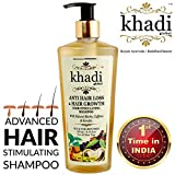 #5: (Limited Introductory Offer) Khadi Global Anti Hair Loss & Hair Growth Hair Stimulating Shampoo With Natural Biotin Caffeine & Keratin Infused With More Than 25 Rare Active Indian Herbs 250ml /8.45 Fl.Oz   Stops Hair Loss & Promotes Hair Regrowth