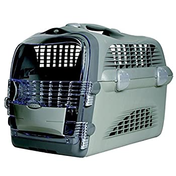 Catit Caisse de Transport Pet Cabrio Gris