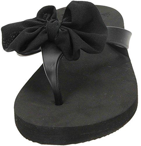 Dunlop, Infradito donna Nero (nero)