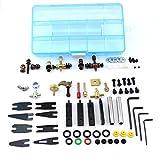CHUSE Tattoo Maschine Zubehör-Kits universell für alle Spulenmaschinen Permanent Make-up...