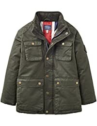 Joules Junior Barnham Mock Wax Jacket-5 years