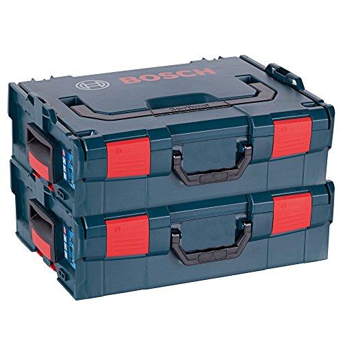 DOPPELPACK Bosch Maschinenkoffer L-Boxx Gr. 2 - Sortimo Gr. 136 - 2608438692 LBOX