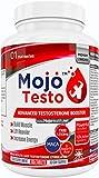 MOJO™ TESTO Testosteron booster | Testo Booster | Erhöht den Testosteronspiegel | Bockshornklee | Tribulus Terrestris | D Aspartic Acid | D-Asparaginsäure | MACA