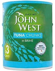John West Tuna in Brine, 3x145g