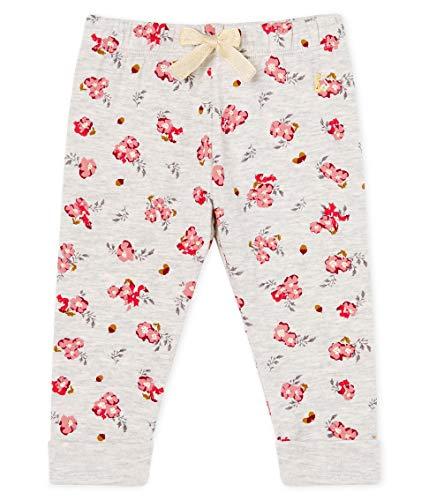 Petit Bateau Baby-Mädchen Pantalon_5298501 Hose, Mehrfarbig (Beluga/Multico 01), 86 (Herstellergröße: 18M/81cm)