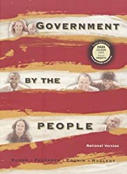 Government by the People, National Version by James MacGregor Burns (1999-07-29)