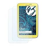 Bruni Schutzfolie für Samsung Galaxy Tab 3 Kids (SM-T2105) Folie - 2 x glasklare Displayschutzfolie