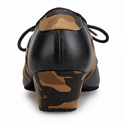 Miyoopark , Salle de bal homme Black/Brown-4.5cm heel
