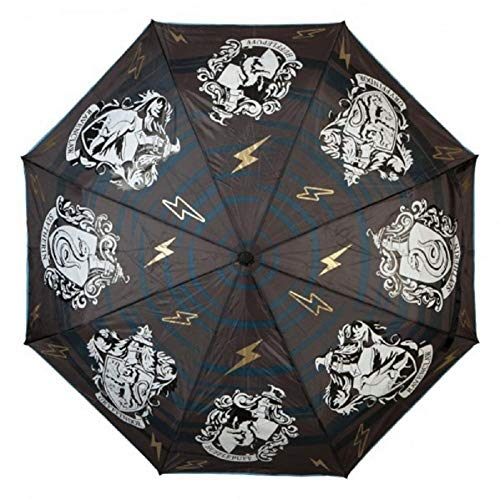 Harry Potter Hogwarts Casas paraguas cresta escudo