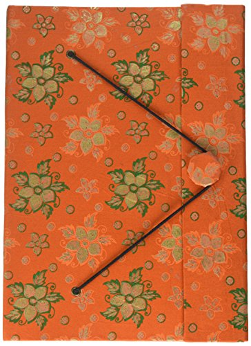 SouvNear Schreibpapier und Brokateinband: Tagebuch, 26,4cm