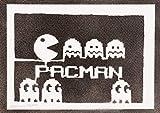 Poster Pac-Man Arcade Affiche Handmade Graffiti Street Art - Artwork