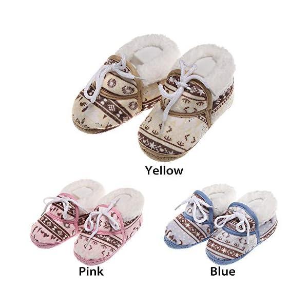 shihao159 Baby Socks Shoes,Keep Warm Slippery Soft bottom Cotton Fabrics Baby's First Step Baby Socks(blue) 2
