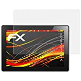 atFolix Folie für Lenovo IdeaPad Miix 310 Displayschutzfolie - 2 x FX-Antireflex-HD hochauflösende entspiegelnde Schutzfolie