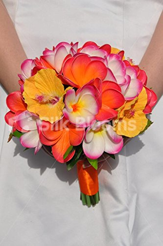 Artificial-Fresh-Touch-pledger-y-hibisco-flores-boda-ramo