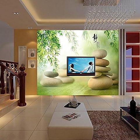Cunguang Custom 3D stéréoscopique grande murale Chambre Salon canapé Toile de fond d