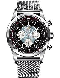 Breitling Transocean Reloj de hombre automático 46mm AB0510U4/BB62SS