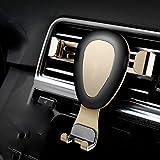 ZXY Auto Handy Halterung Auto Steckdose mit Der Auto-Schnalle Universelle Vielseitige Unterstützung Navigation Navigation,Gold,Einheitsgröße