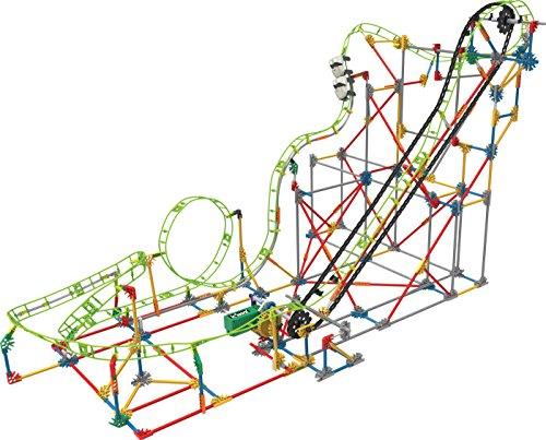 KNEX 56.402 Doble Muerte Roller Coaster hueco, juguetes de construcción y de la construcción