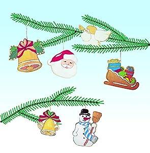Pebaro 843/1 - Set de Manualidades de Madera - Decoración para árbol de Navidad 1