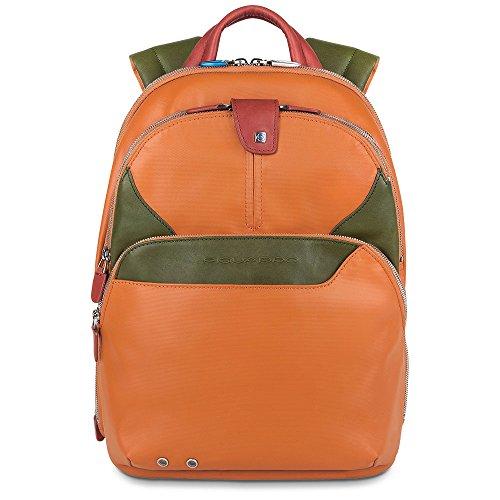 Piquadro CA2944OS Zaino, Collezione Coleos, Arancione