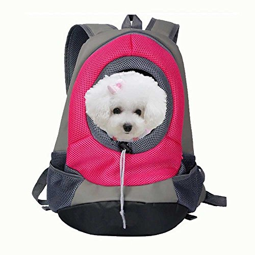 Mochila transportar animales. Bolsa de viaje para perros o mascotas, con doble...