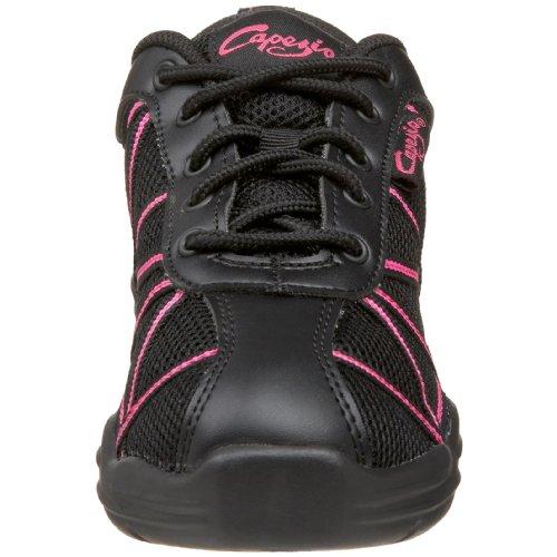 Capezio Web , Chaussures danse femme Black / Hot Pink