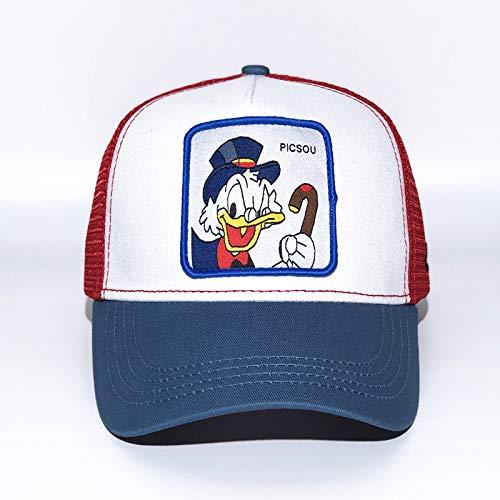 sdssup Cartoon Anime Charakter Baseball Cap Tier Stickerei Hut Kappe Donald Duck einstellbar -