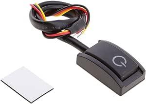 Magideal Mini Schalter Für Nachrüsten Universal Druckschalter Ein Aus Schalter Auto