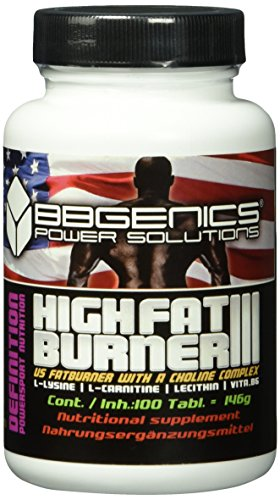 BB Genics High FatBurner III