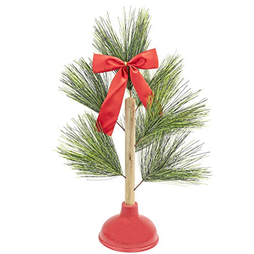 Bastante ODD Novelties Novelty Redneck Árbol de Navidad émbolo Novelty Gag Regalo