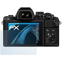 atFoliX Displayschutzfolie für Olympus E-M10 Mark II Schutzfolie - 3 x FX-Clear kristallklare Folie