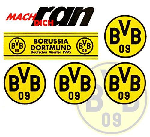 Preisvergleich Produktbild Borussia Dortmund BVB 09 Aufkleber / Sticker / Gesichtaufkleber etiqueta engomada / autocollant