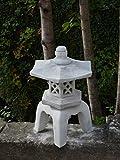 Grande molto massiccio Oki Gata Yukimi giapponese Lanterna di pietra pietra artificiale frostfest