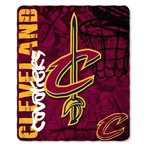 Offizielle NBA Cleveland Cavaliers Decke, Fleecedecke in 127 x 152 cm