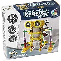 Science4you-Robotics Robotics Betabot - Juguete Científico y Educativo Stem,, Regular para Niños +8 Años, 605152