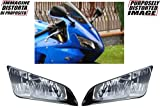 Kit adesivi decal stickers HONDA CBR 600 RR FANALI HEADLIUGHTS 2003 2007 (ability to customize the colors)