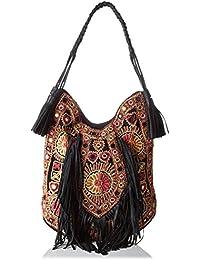 Antik Batik Mysor - Bolso de tela para mujer multicolor Multicolor (Multico) 9x44x36 cm (W x H x L)