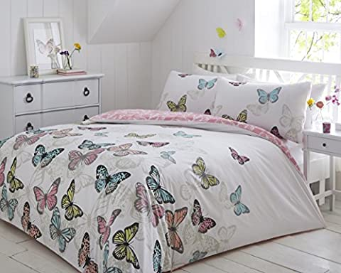 Pieridae New Butterflies Duvet Bedding Quilt Cover Bedroom Set Single Double King Super King