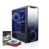 Fierce Gaming PC - AMD Ryzen 5 2600 3.9GHz, AMD RX 570 8GB