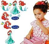 alles-meine.de GmbH 12 tlg. Set _ Fensterbilder -  Disney Prinzessin - Arielle die Meerjungfrau ..