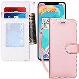 FYY Coque iPhone XS, Coque iPhone X, [RFID Portefeuille Blocage] Fait Main Housse...