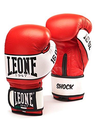 Leone 1947 Guantoni Boxe Shock Rosso 8 Oz