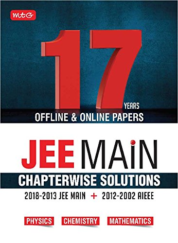 17 Years JEE Main Chapterwise Solutions - Phy,Chem,Maths