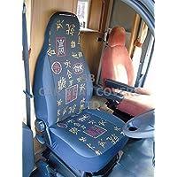 /malla de bronce MH-077 Ducato autocaravana 2007 funda de asiento/