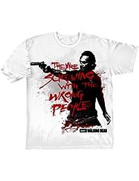 Walking Dead Wrong persone maglietta Horror Zombie TV Ventilatore shirt unisex in cotone nero