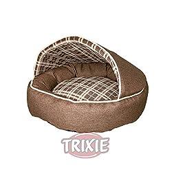 Trixie 37536 Hundebett Timber, o 55 cm, braun