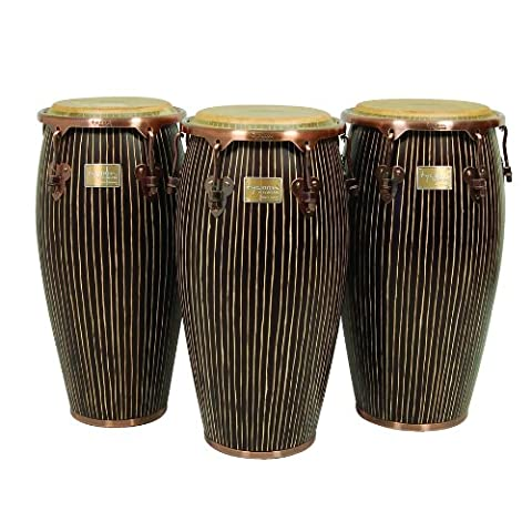 Tycoon Percussion MTCHC-110AC/ST1 11 inch Master Hand Crafted Pinstripe Series Quinto Conga